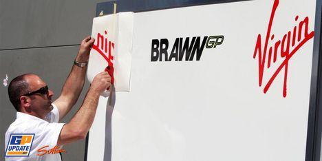 Virgin y BrawnGP