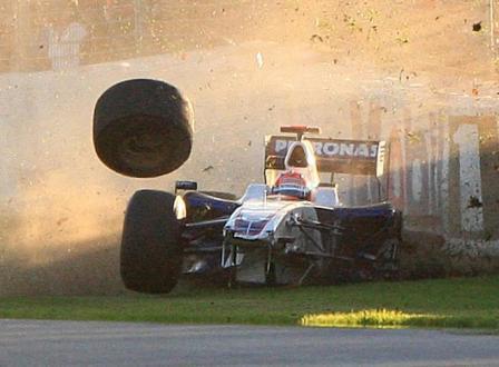 Accidente de Kubica