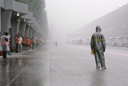 Lluvia en Malasia