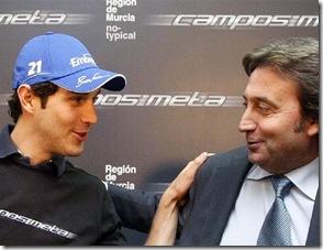 Bruno Senna y Adrian Campos