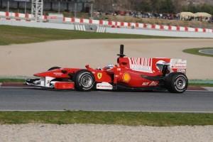 TEST F1 BARCELLONA 25-28/02/2010
