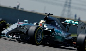 pole hamilton china mercedes